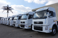 Mozambique's Strauss Logistics Placed an Order for 44 FAW Truck Tractors