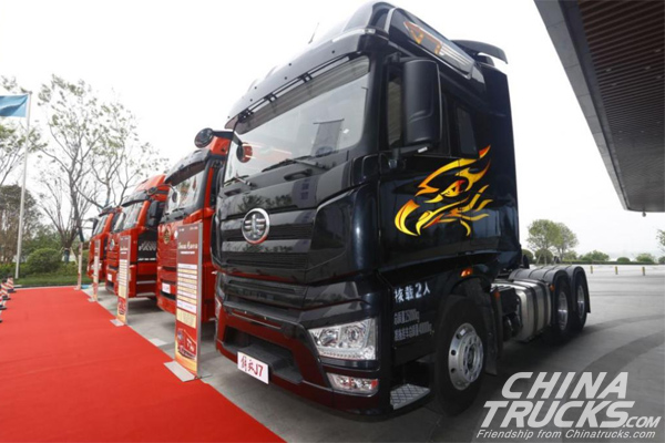 FAW Jiefang Sales Volume Exceeded 10,000 Units in West China in Q1