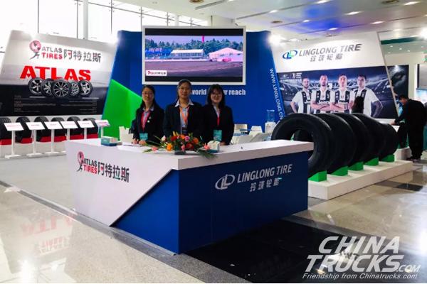 Linglong On China International Tire&Wheel (Qingdao) Fair 2019