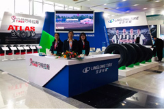 Linglong Appears on China International Tire&Wheel (Qingdao) Fair 2019
