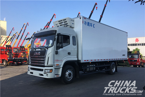 JAC K6 Refrigerator Truck (HFC5161XLCP3K1A57V)