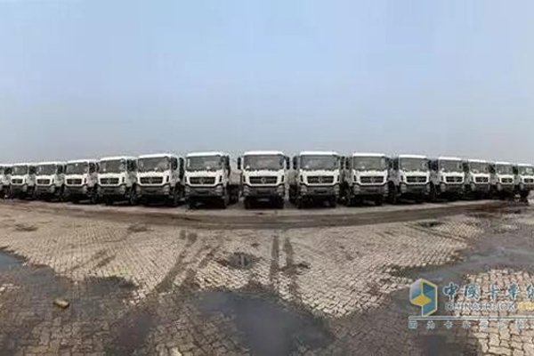 30 Units Trucks Powered by Dongfeng Cummins Arrived in Indonesia for Operation