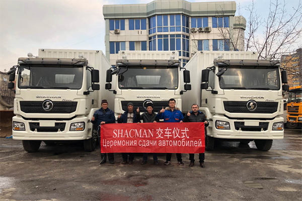 First batch of SHACMAN H3000 Vehicles Arrive in Tajikistan