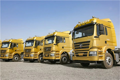 100 Units SHACMAN Xuande Trucks Delivered to Customers for Operation