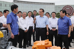 Premier Li Pays a Visit to Weichai Group
