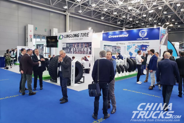 Linglong at AUTOPROMOTEC 2019 with European Best-selling Products