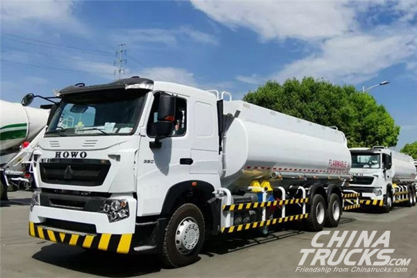 20 Units CIMC Linyu Oil Tank Trucks Shipped to Southeast Asia for Operation