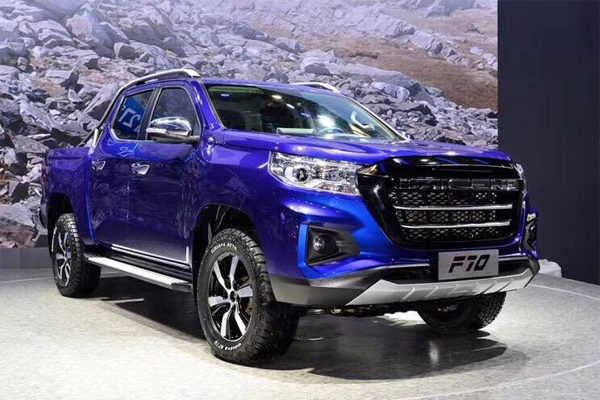 Changan KAICENE F70 Pickup Makes Its First Show