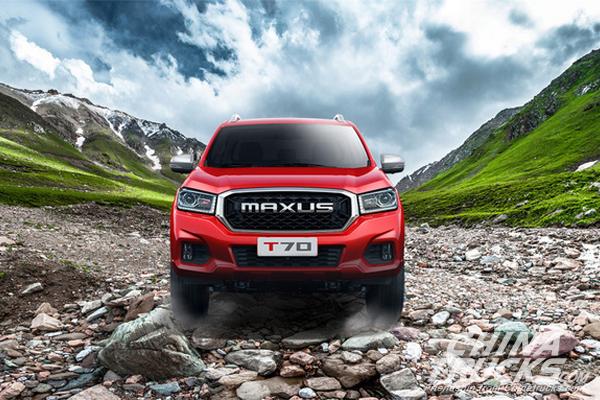 SAIC MAXUS T70 Pickup Makes Its Debut