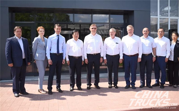 Weichai Investigates its New Factory in Russia