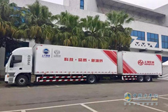 SAIC Hongyan 20-meter GENLYON C500 Truck Continues to Gain Popularity in Market
