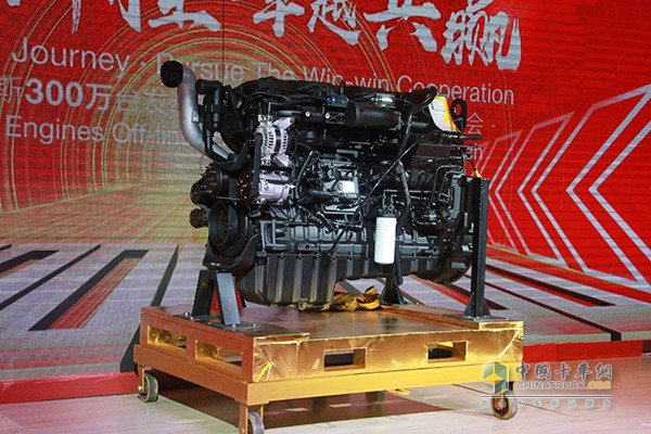 Dongfeng Cummins Rolls Out its 3,000,000th Unit Engines