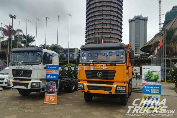 SHACMAN on Display at 2019 Kenya-China Trade Week