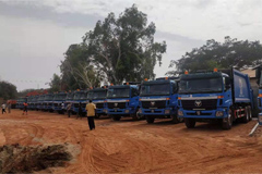 Foton Delivers 42 Units AUMAN Sanitation Vehicles to Gambia