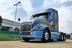 JAC heavy-duty truck-V7+Cummins ISGe5-510+ZF Transmission