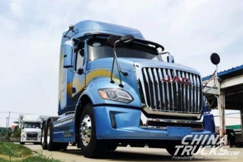 JAC heavy-duty truck-V7