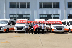 Dongfeng Delivered 7 of Its Engineering Trucks to China Railway