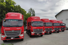 Foton Delivers Trucks to Vietnam and Philippines