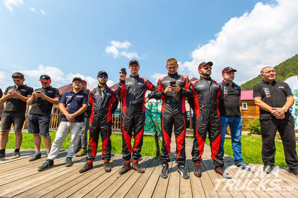 Foton Tunland Aims at Champion in Silk Way Rally 2019