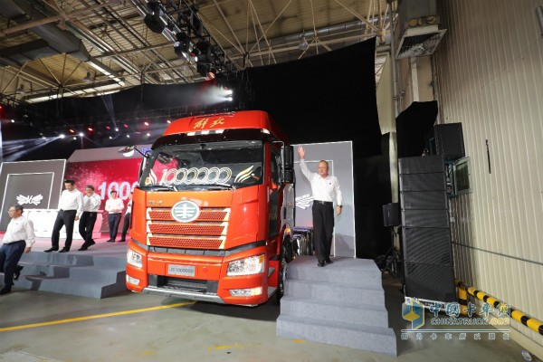 FAW Jiefang Rolls Out its 1,000,000th Unit J6 Truck