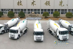 XCMG Delivers 100 V7 Mixer Trucks for the Development of Greater Bay Area