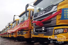100 Units Gallop Intelligent and Eco-Friendly Trucks Delivered to Guangzhou