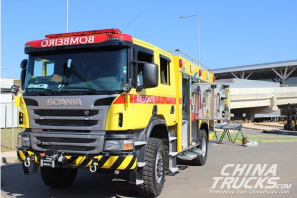 Triel-HT Uses Allison Fully Automatic Transmissions in Airport Fire Trucks