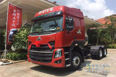 Chenglong LNG Truck Makes its Debut in Hainan