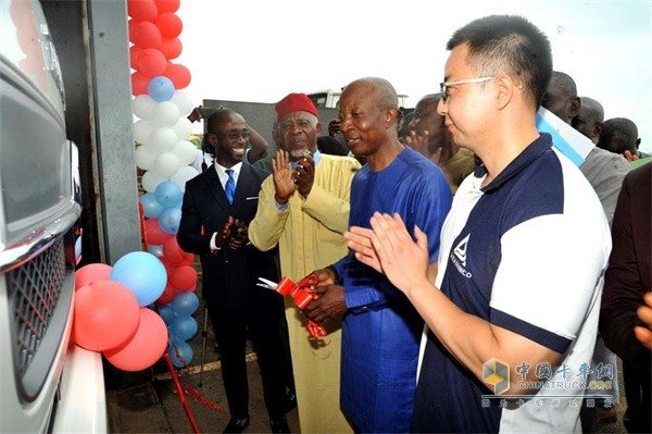 Dongfeng Commercial Vehicle CKD Trucks Assembled in Nigeria