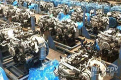 192 Units Dongfeng ZD30 Engines Delivered to Vietnam for Operation