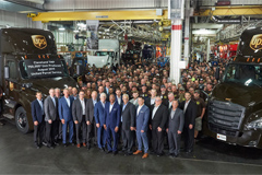 Daimler Rolls Out of Its 750,000th Heavy-duty Trucks at Clevela Plant