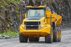 Bell Exclusively Selects Allison Transmissions for Its Articulated Dump Trucks