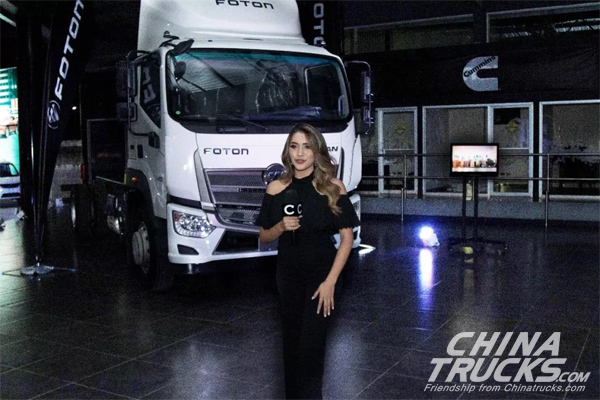 Foton Reveals New Products in Honduras