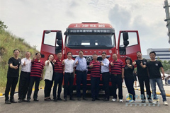SAIC Hongyan and Cummins Jointly Rolls Out a New Genlyon Truck for Customers