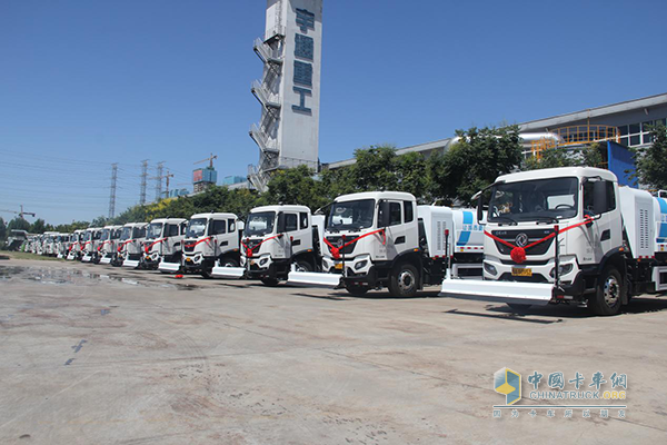 Yutong Sanitation Vehicles Delivered to Customers for Operation
