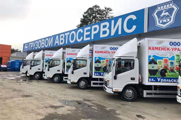 As One Best-seller in Russia: JAC Light-duty Trucks are Popular in Russia
