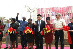 Shacman Opens Spare Part Center in Zambia