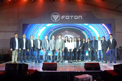Foton Philippines Concluded BIG ATTRUCKTION with 100 Units Vehicles Sold