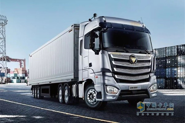 50 Units Auman Trucks for Port Logistics to Arrive in Guangzhou for Operation