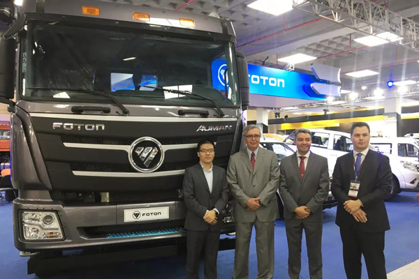 Foton Attends Ecuador Commercial Vehicle Exhibition