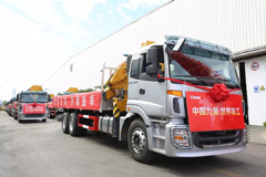 50 Trucks Jointly Developed by Foton and XCMG Shipped to Middle East