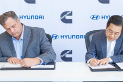 Hyundai Motor Company and Cummins to Collaborate on Hydrogen Fuel Cell Tech