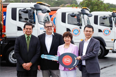 BYD Delivers 9 Electric Waste Trucks to Rio de Janeiro, Brazil