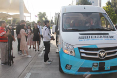 Journalists from Home and Abroad Visit Foton Motor in Beijing