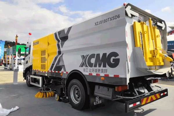XCMG Showcase High-quality Products at the 16th China-ASEAN Expo