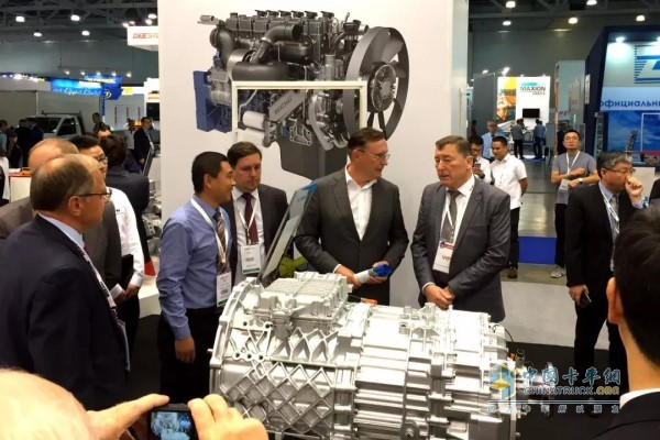 FAST Attends Russia International Commercial Vehicle Exhibition