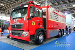 168 Units Fire-fighting Trucks Attend ChinaFire 2019