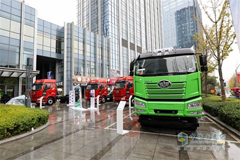 FAW Jiefang Releases New Generation of LNG Trucks in Taiyuan