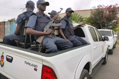 Foton Tunland Pickups on Security Patrol in Angola