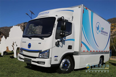 Foton Aumark IBLUE Light Truck: A Trend-setter in New Energy Vehicle Market